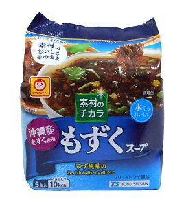 マルちゃん素材のチカラ沖縄産もずくスープ5食【イージャパンモール】