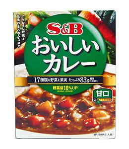 ★まとめ買い★ SBなっとくのおいしいカレー 甘口180g ×6個【イージャパンモール】