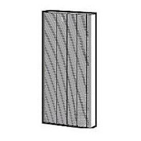 シャープ 空気清浄機 交換用フィルター(制菌HEPAフィルター) 1個