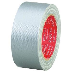 スリオンテック 布粘着テープ No.3390 50mm×25m シルバー 1巻