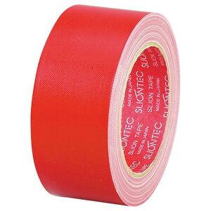 スリオンテック 布粘着テープ No.3390 50mm×25m 赤 1巻