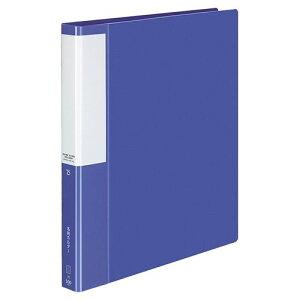 コクヨ 名刺ホルダー(POSITY) 替紙式 A4タテ 30穴 500名用 ヨコ入れ ブルー 1冊