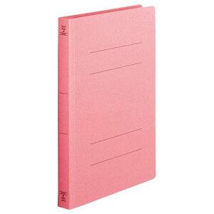 フラットファイル(厚とじW)A4タテ 250枚収容ピンク 1セット(100冊:10冊x10パック)