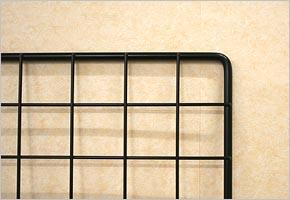 WAKI メッシュパネル50〈ブラック〉600×900mm  EMP040【ホームセンター・DIY館】