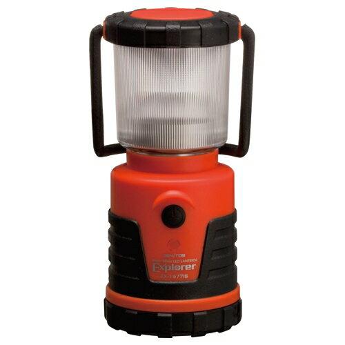 ジェントス LEDランタン エクスプローラー 単3形4本付 100Lm 防滴仕様 1台