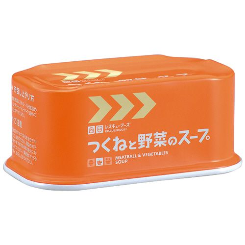 ホリカフーズ レスキューフーズ つくねと野菜のスープ 175g 1セット(24缶)