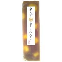 【送料無料】桃太郎製菓謹製 本くず 上りういろう(栗) 250g×10本セット【生活雑貨館】