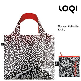 LOQI ローキー eco-bag エコバッグ Museum Collection KH.PL Keith Haring キース・ヘリング