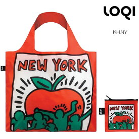 LOQI ローキー eco-bag エコバッグ Museum collection KH.NY Keith Haring/Untitled New York キース・ヘリング