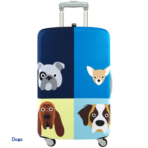 LOQI luggage cover ローキー ラッゲージカバー Sサイズ Dogs