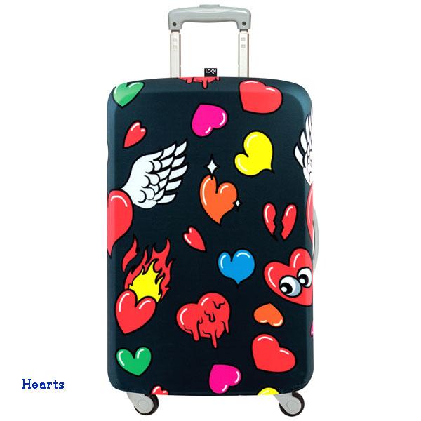 LOQI luggage cover ローキー ラッゲージカバー Lサイズ hearts