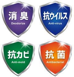 抗菌・抗カビ・抗ウィルス・消臭高機能性フィルター99エアコンフィルター