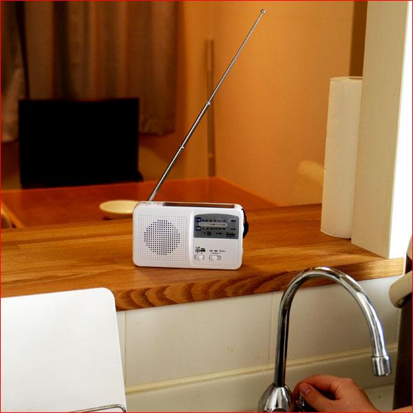 多機能防災ラジオ KR-005AWFSE