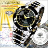J.HARRISON John Harrison 4 stone natural diamond with solar radio watch J.H-024-BB