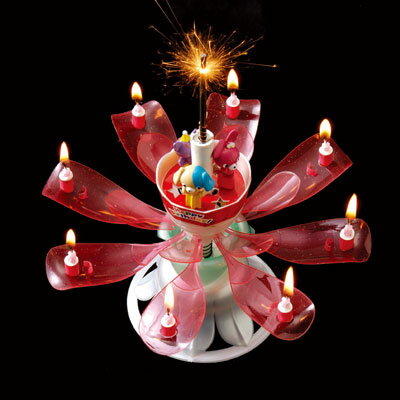 【あす楽】Dream Candle Deluxe ドリームキャンドル デラックス 誕生日用
