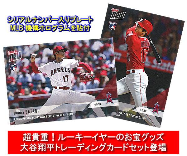 「大谷翔平」ルーキーイヤー・スタンド付 トレーディングカード2枚セット