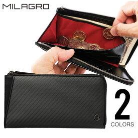 Milagro(ミラグロ) リアルカーボンF・MAMORIO搭載型ミドルウォレット ea-mi-019