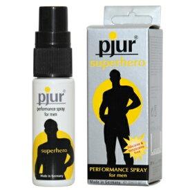 そうろう 防止 送料無料 【pjur スーパーヒーロー】【送料無料】名門のドイツで生まれた安心と信頼の「Pjur(ピュアー)」!過敏さを和らげて、ロングプレイを楽しんで頂ける男性用スプレー!tam