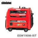 【数量限定】〈新ダイワ〉発電機 兼用 エンジン溶接機 EGW190M-IST【代引不可・車上引き渡し品】