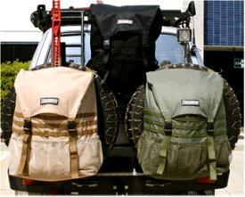 トラッシャルーバッグ、キャンプ、アウトドアー、バッグ、車用、スペアタイヤゴミ袋、オプションパーツ、ゴミ収納バッグ