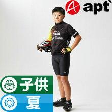apt'(エーピーティー)レーサーパンツジュニア用3Dゲルパッドロードバイク用