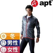 apt'(エーピーティー)サイクルウェア冬用ウインドブレーカーレインジャケット