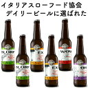 イタリア直輸入 クラフトビール 4種6本飲み比べセット お試し詰め合わせ 送料無料