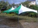 ロイヤルテント 2間×2間 緑