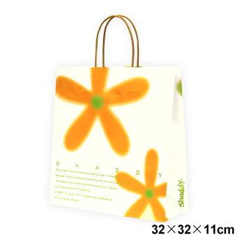 ギフトバッグフラワー(紙袋)中サイズ:横32×縦32×マチ11cm