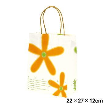 ギフトバッグフラワー(紙袋)小サイズ:横22×縦27×マチ12cm