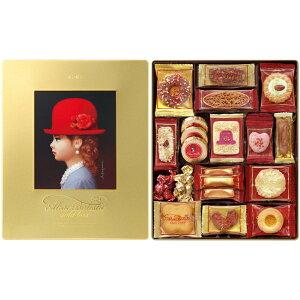 ギフト チボリーナ 赤い帽子 ゴールドボックス 缶入りクッキー詰め合わせ お菓子 洋菓子 焼き菓子 父の日ギフト 内祝い 入学 卒業 お菓子 スイーツ お返し 結婚内祝い 出産内祝い 香典返し
