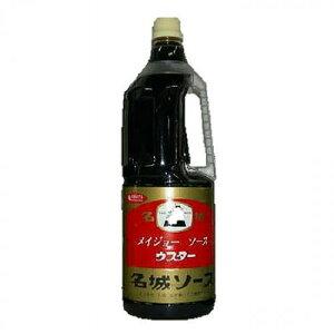 名城ソース ウスターソース 1.8L (メイジョーソース)【のし・包装不可】 食品 食べ物 お取り寄せ