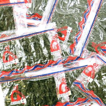 【全国送料無料】大浜加古川産漁師直送味付け海苔24袋120枚入味付海苔味付のり味付けのり味のり味海苔(50)