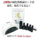 ジェルネイルキット最新型日本製LEDライトn2初心者も安心の5年間サポート付【送料無料】【HLS_DU】【楽天BOX受取対象…