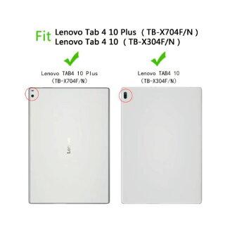 【タッチペン+液晶保護フィルム2枚おまけ付】【送料無料】LenovoTab410Plus/タブレットケース薄型軽量PUレザーケーススタンド機能オートスリープフリーポケットおしゃれオシャレ三つ折カバースマートケースcase父の日全7色