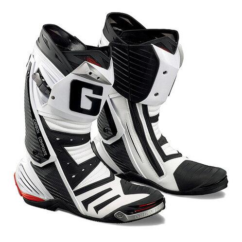 ガエルネ正規代理店 オンロードブーツ ジーピーワン ホワイト(サイズ交換一回無料) GAERNE GP-1
