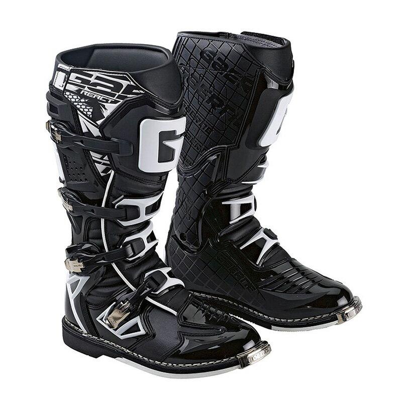 ガエルネ正規代理店 オフロードブーツ ジーリアクト ブラック(サイズ交換一回無料) GAERNE G-REACT