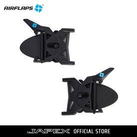 エアフラップス AIRFLAPS オフロードバイク スノーモービル マウンテンバイク用 ゴーグル曇り防止アイテム エアフラップス
