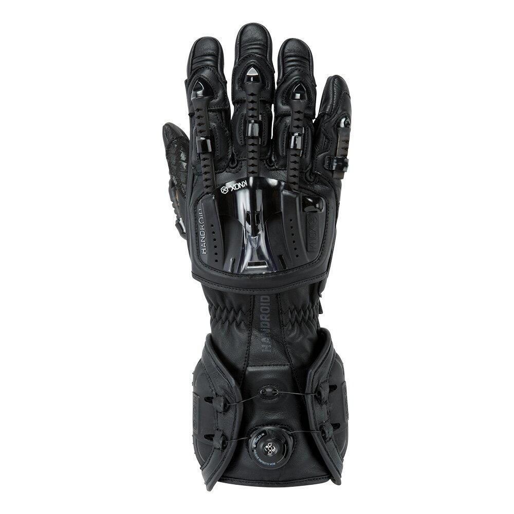 バイク用プロテクショングローブ ノックス ハンドロイド ブラック(日本正規代理店) KNOX Handroid
