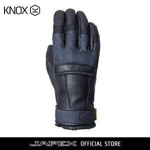 バイク用プロテクショングローブノックス ウィップ ブラック/デニム(日本正規代理店)KNOX Whip