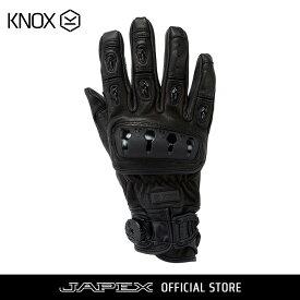 ノックス KNOX バイク用プロテクション グローブ 本革 オルサレザー / ORSA Leather ブラック