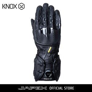 バイク用プロテクショングローブ ノックス ハンドロイド マーク4 ブラック(日本正規代理店) KNOX Handroid Mark4