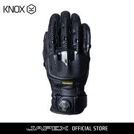ノックス KNOX バイク用 プロテクション グローブ 摩擦緩和・衝撃吸収・BOAシステム搭載 ハンドロイド ポッド マーク4 / Handroid POD Mark4 ブラック