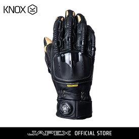バイク用プロテクショングローブ ノックス ハンドロイド ポッド マーク4 ブラック/サンド(日本正規代理店) KNOX Handroid POD Mark4