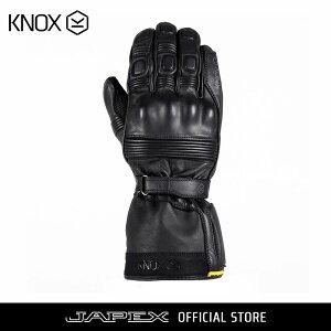 ノックス KNOX バイク用 防水 本革 ツーリング グローブ コバート MK3 / KNOX COVERT MK3 ブラック