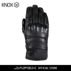 ノックス KNOX バイク用 防水 ツーリング グローブ ハドリー / KNOX hadleigh ブラック
