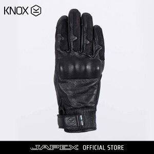 ノックス KNOX バイク用 防水 ツーリング グローブ レディース ハドリー MK2 / KNOX hadleigh MK2 ブラック