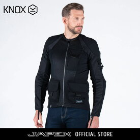 ノックス KNOX バイク用 シャツ感覚で着れるプロテクター ツーリング スポーツライディング用 耐摩耗 メンズ アーバンプロ ユーティリティ MK2/ URBANE PRO UTILITY MK2 ブラック