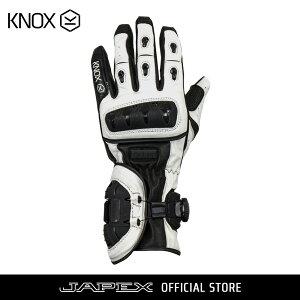 バイク用プロテクショングローブ ノックス ネクソス ホワイト(日本正規代理店) KNOX NEXOS