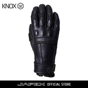 バイク用プロテクショングローブノックス ウィップ ブラック(日本正規代理店)KNOX Whip